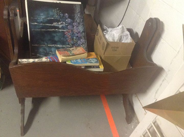 What To Do With An Old Baby Cradle Hometalk