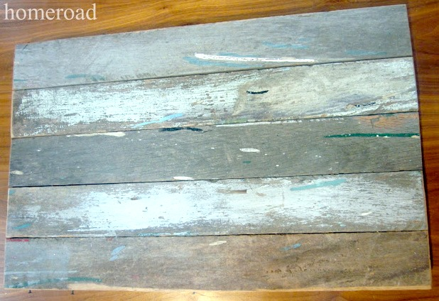 All that chippy paint patina is natural to these old saw horse legs.