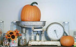 fall home tour, crafts, repurposing upcycling, seasonal holiday decor, Fall vignette