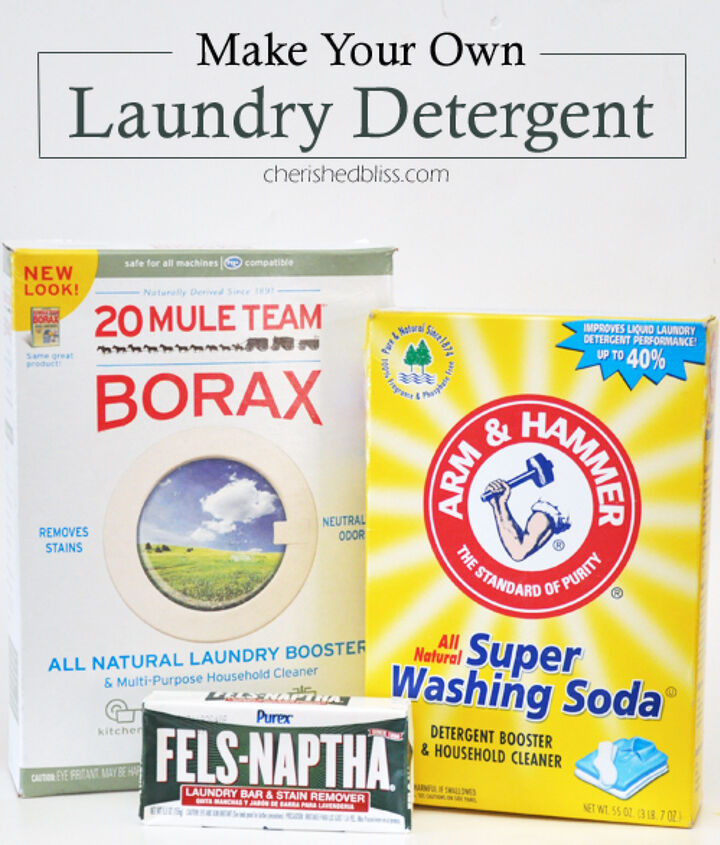 super easy homemade laundry detergent, cleaning tips