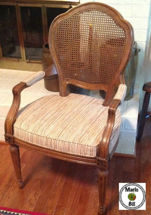 A $40.00 French Provencal chair in mint condition - another Craigslist find