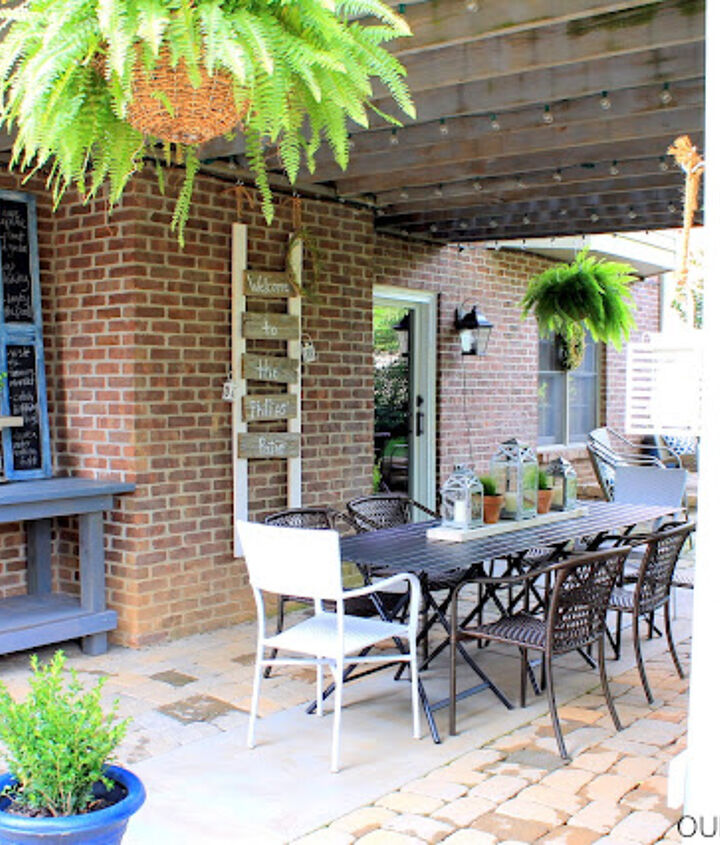 covered patio dining area, decks, landscape, outdoor living, patio