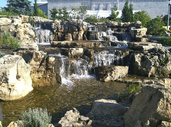 These Spectacular Waterfalls were Installed at The Shedd Aquarium a year earlier.