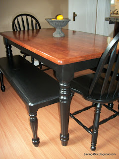 refinishing a dining room table, dining room ideas, painted furniture