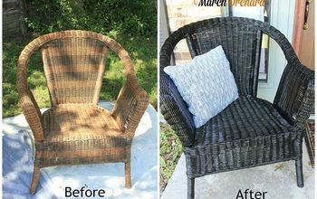 Porch Chair Makeover
