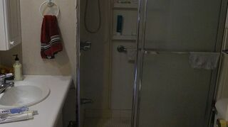 q how to re do vintage bath in mobile home, bathroom ideas, diy, home improvement, how to, repurposing upcycling
