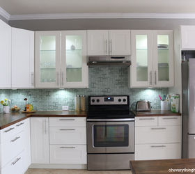 How To Install A Kitchen Backsplash, Diy, Kitchen Backsplash, Kitchen  Design, Tiling