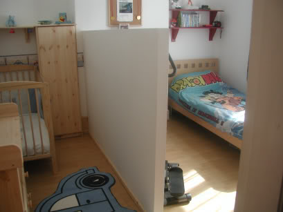 Splitting A Room In 2 With Half Height Parion Wall Hometalk Convert One Bedroom Into Two