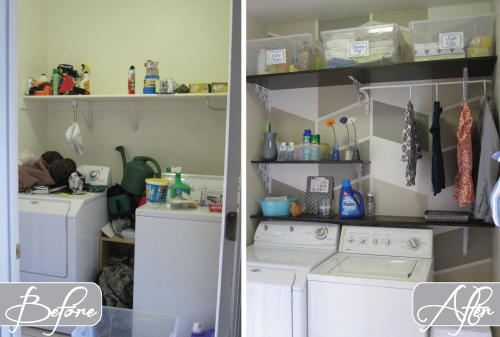 124 laundry room overhaul pass through to garage custom diy