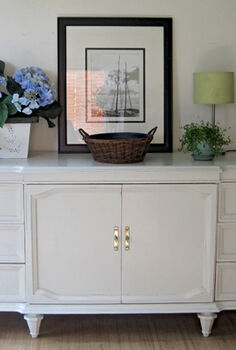 my latest project painted sideboard credenza, painted furniture