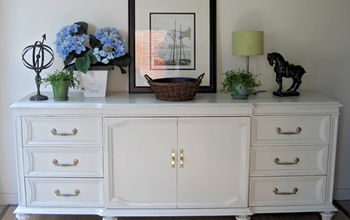 My Latest Project - Painted Sideboard/credenza