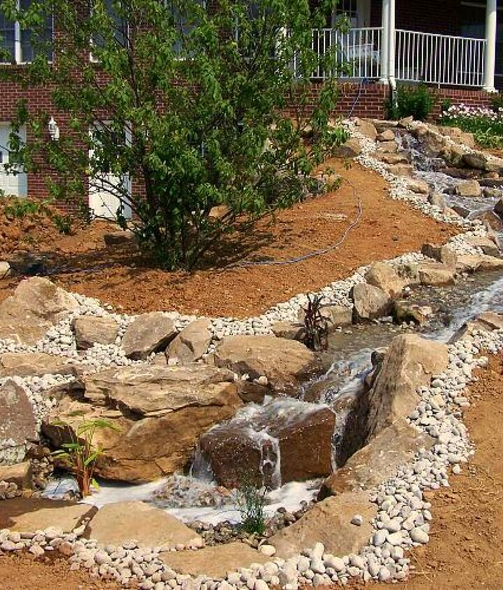 Finally completed the Pondless Waterfall, now all we need is some greenery around it!