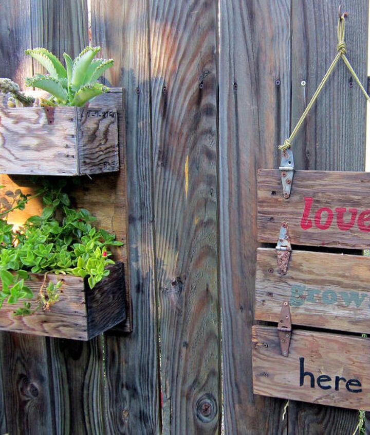 Rustic Wooden Industrial Tool Boxes Garden Sign Planters Hometalk