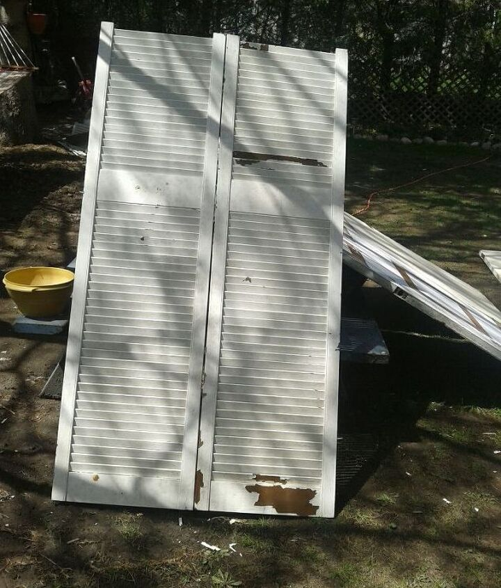 garden archway from old doors, outdoor living, repurposing upcycling