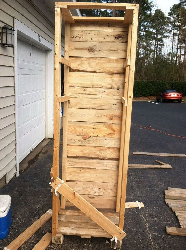 Pallet Wood converted to beautiful shelves | Hometalk