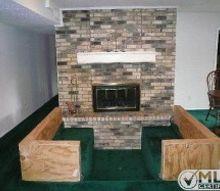 q 1970s sunken conversation pit, fireplaces mantels, home maintenance repairs, living room ideas