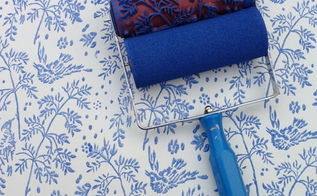 patterned paint rollers from notwallpaper, painted furniture, Patterned Paint Roller from NotWallpaper
