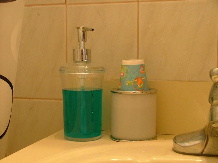 mouthwash dispenser, home decor