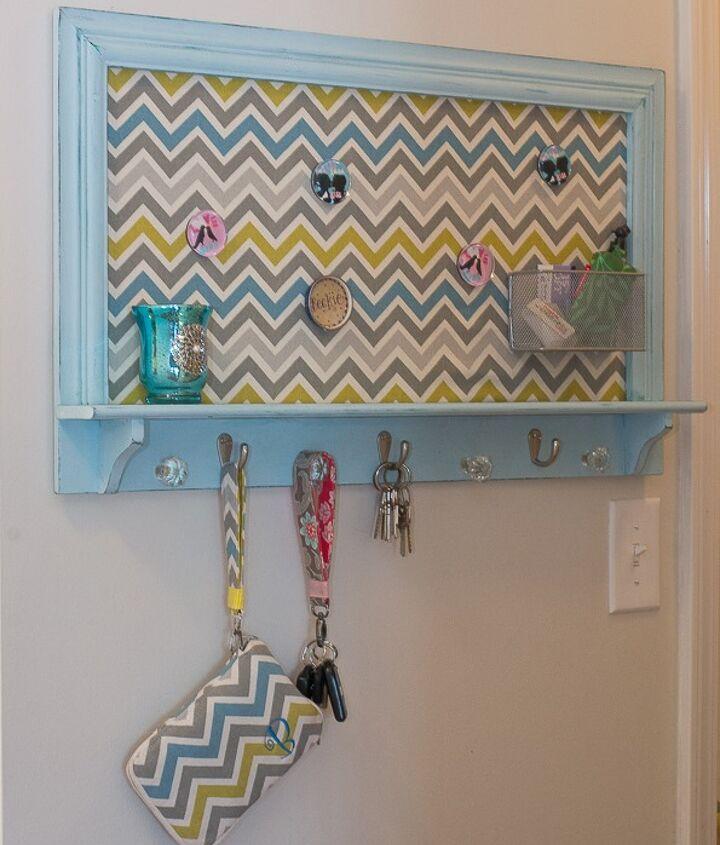 key holder rack makeover makeover, cleaning tips, painted furniture