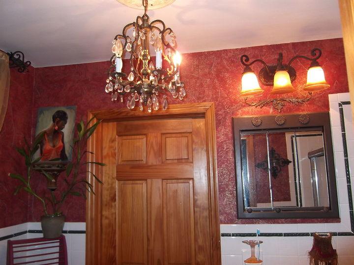 a quick bathroom change, bathroom ideas, electrical, home decor