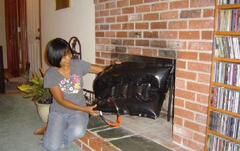 how to stop drafts and save on home energy bills, doors, home maintenance repairs, how to, Seal the fireplace with an inflatable Fireplace Plug to stop drafts and save energy Installs easily and cleanly Reusable Removes easily to use fireplace