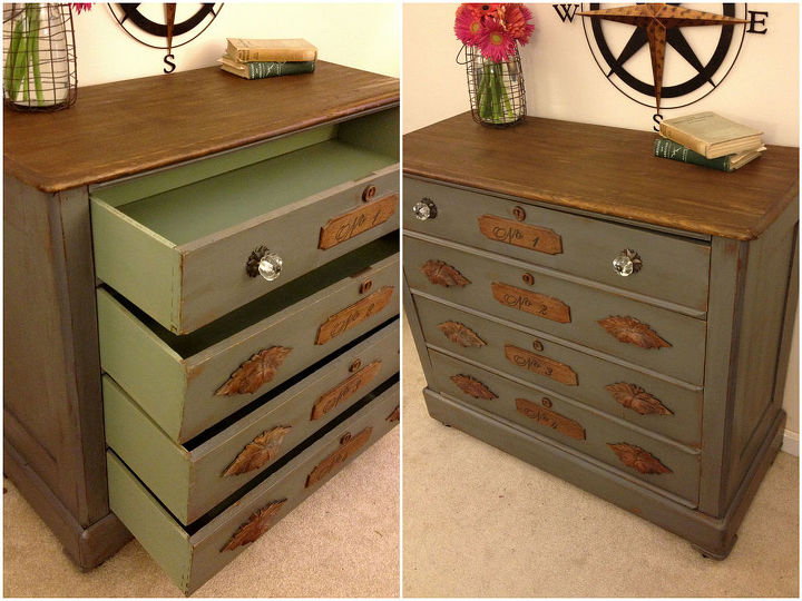 restoration hardware style dresser on a budget, chalk paint, painted furniture, rustic furniture