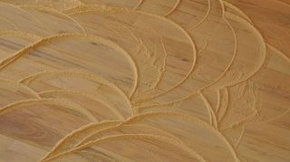 what is an inexpensive diy way to refinish old hardwood floors, flooring, hardwood floors, Sanding sanding sanding