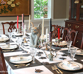 a stylish halloween table setting halloween decorations seasonal holiday d cor For a & A Stylish Halloween Table Setting   Hometalk