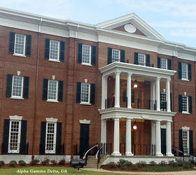 Featured Projects By Timberlane, Curb Appeal, Windows, Timberlane Shutters  On The Alpha Gamma