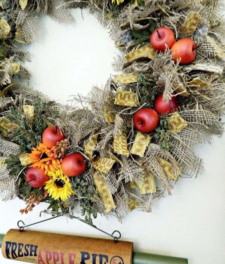 Fall Kitchen Wreath