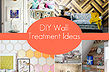 diy wall treatment ideas, home decor, paint colors, wall decor