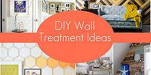 diy wall treatment ideas, home decor, paint colors, wall decor