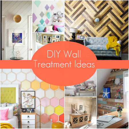 Diy Wall Treatment Ideas Home Decor Paint Colors
