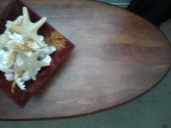 Table top after.