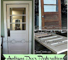 antique door restoration mouse hole eliminated doors The antique door I bought for 25 & Antique Door Restoration: Mouse Hole Eliminated | Hometalk