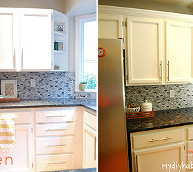 Genial Adding Instant Drama To Kitchen Cabinets, Diy, Home Decor, Kitchen  Cabinets, Kitchen
