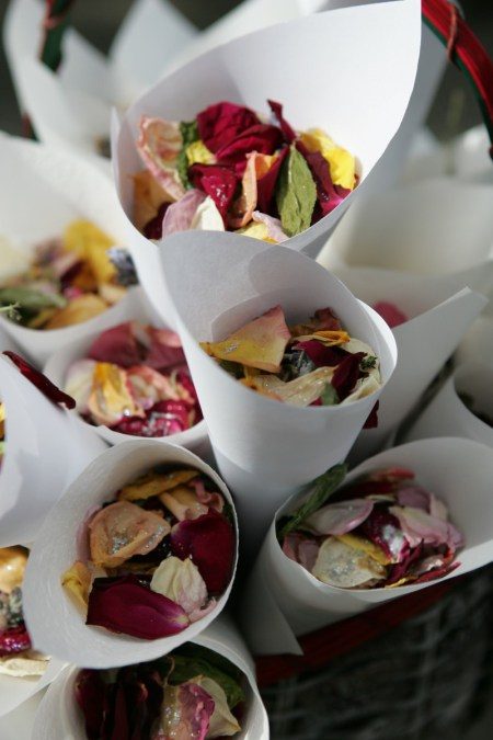 My dried flowers for our wedding