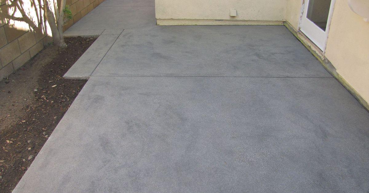 Decorate Concrete Slab