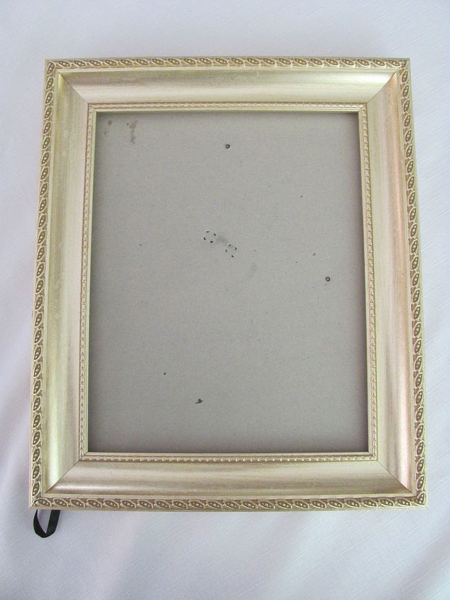 Take any old frame and remove the cardboard backing.