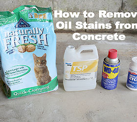 Discover How to Remove Oil Stains From Concrete Hometalk