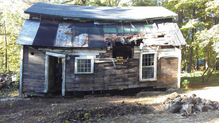 abandoned colonial cottage complete restoration, curb appeal, diy, home improvement