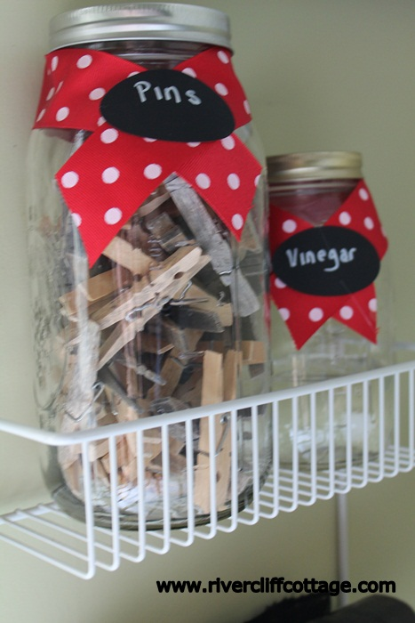 Hey...vinegar and clothespins have a right to dress up every once in a while!