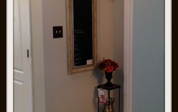 DIY Chalkboard Frame From Hello I Live Here