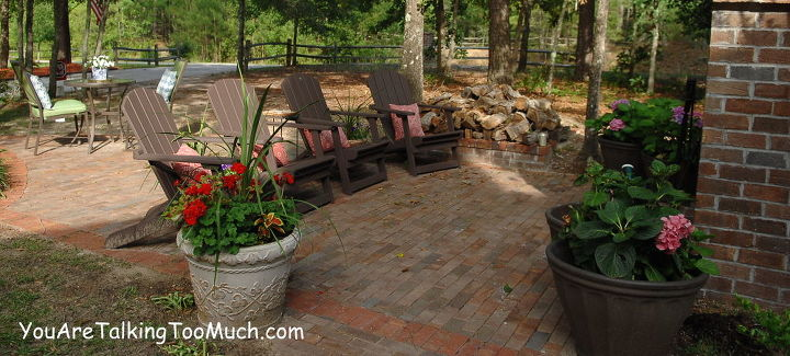 my pool and front yard outdoor living areas were all done on tight and real budgets, decks, fireplaces mantels, outdoor furniture, outdoor living, pool designs