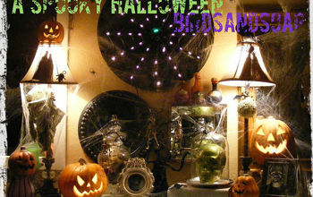 """""""Prepare to be Scared!"""" My spooky Halloween Vignette comes back from the dead..."""