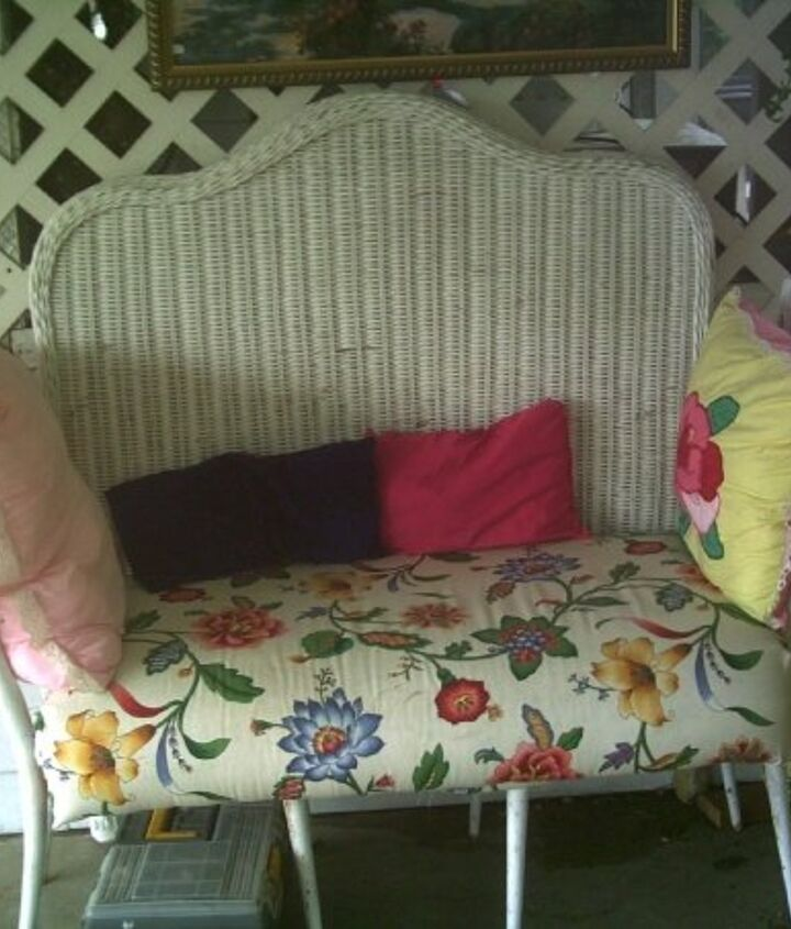 my home made bench, diy, painted furniture, repurposing upcycling