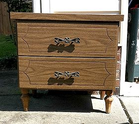 How To Spray Paint Laminate Furniture, Painted Furniture, Original 10  Nightstand