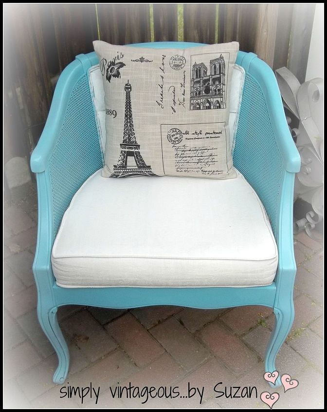 painted chairs fabric and all, chalk paint, painted furniture, reupholster