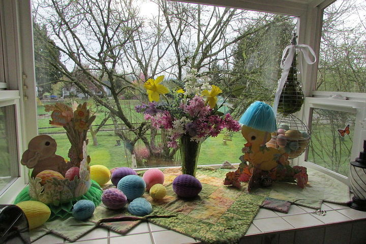 My Easter window display.