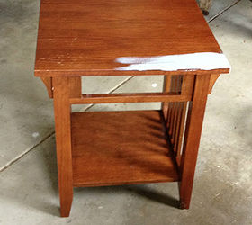 Transform A Traditional Mission Style End Table Easily Inexpensively, Chalk  Paint, Painted Furniture,